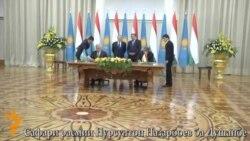 Сафари расмии Нурсултон Назарбоев ба Душанбе