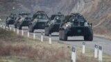 Российские миротворцы прибывают в Нагорный Карабах, 13 ноября 2020 г.