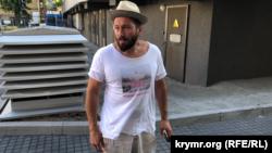 Российский политический эмигрант и лондонский бизнесмен Евгений Чичваркин в Киеве