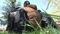 Migranti u Beogradu: Iz parka za Nemačku