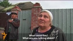 Slovyansk Residents Say Shooting Continues Despite Cease-Fire