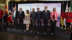 Министры иностранных дел стран-участников Большой семёрки