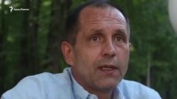 Володимир Балух поза тюремними ґратами (відео)