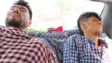 Afghanistan - Journalists Nemat Naqdi and Taqi Daryabi, who work for Etilaat-e Roz, were beaten while in Taliban detention - screen grab