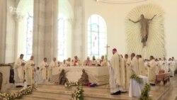 У Косові освятили собор Матері Терези через 20 років після її смерті (відео)