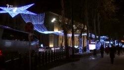 Как украсили Тбилиси к Новому году?