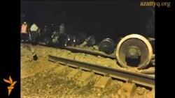 Авария грузового поезда