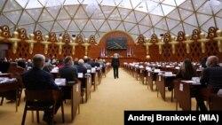 Седница во македонското собрание