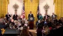 Обама наградил медалью Свободы Мадлен Олбрайт и Боба Дилана