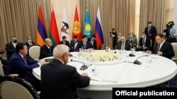 A meeting of the Eurasian Intergovernmental Council, Cholpon-Ata, Kyrgyzstan, August 19, 2021