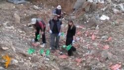 Iskopavanje masovne grobnice kod Raške
