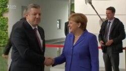 Merkel Gürcüstana viza rejiminin ləğvindən danışdı