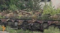Харьков заводида Украина армияси учун совет танклари таъмирланмоқда