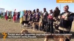 Выставка казахских собак тобет и тазы