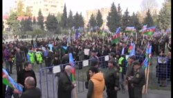Antigovernment Protesters Rally In Baku