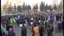 Antigovernment Protesters Rally In Baku