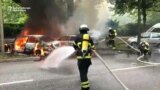 Fires, Arrests Continue In Hamburg As G20 Leaders Meet