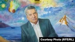 Садык Мурзахановдун кыл калемине таандык Чыңгыз Айтматовдун портрети