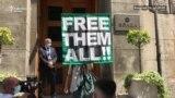 "Aktivisti ""Krova nad glavom"" predali Vladi zahteve za oslobađanjem demonstranata"