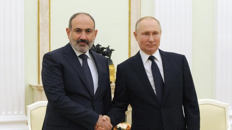 Владимир Путин и Никол Пашинян встретились в четвертый раз за 2021 год