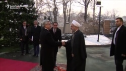 Iran's Rohani Visits Neighboring Armenia