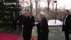 Iran's Rohani Visits Neighboring Armenia
