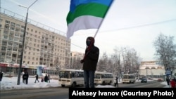 Коми активисты Алексей Иванов Навальныйны яклау чарасында