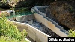 """Малата Хидроелектрана """"Брајчинска река 2"""" во Националниот парк Пелистер. Извор """"Еко-свест."""""""