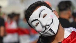 از عراق تا هنگکنگ: گای فاکس در تظاهرات ضدحکومتی