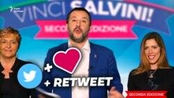 Нове передвиборче шоу віце-прем'єра Італії Сальвіні. Який приз? Він сам! (відео)
