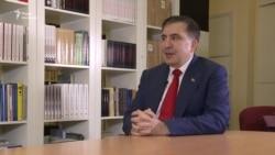 «Без грошей і документів»: Саакашвілі розповів про свою реадмісію до Польщі (відео)