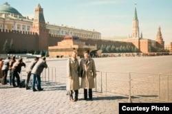 Марк Помар (слева) и Стив Форбс на Красной площади.
