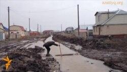 Астана түбіндегі сел қаупі