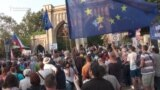 Czechs Protest Outside Russian Embassy On 50th Anniversary Of Invasion