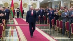 Lukashenka Sworn In Abruptly In Belarus Despite Mass Protests
