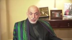 Afghan Leader Meets With U.S. Senators In Washington
