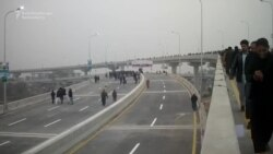 New Double-Decker Bridge Opens In Pakistani City