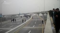 New Double-Decker Bridge Opens In Pakistani City