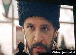 Кадр из фильма «Мендирман Жалолиддин» («Я – Джалолиддин»).