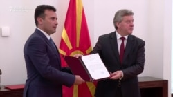 Macedonian President Mandates Zaev To Form Government