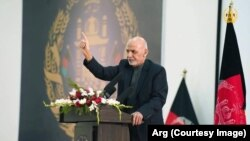 Afghan President Ashraf Ghani. (file photo)