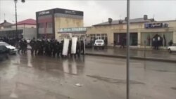 Security Forces Move Against Protesters in Azerbaijan