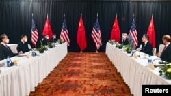 نشست مقامات ایالات متحده و چین در آلاسکا