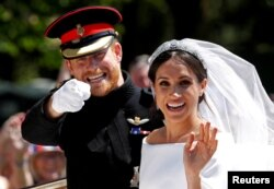 Régi szép idők: Harry herceg és Meghan Markle amerikai színésznő windsori esküvője.