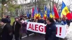 Protestarii Partidului Socialiştilor