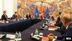 Совет за безбедност кај претседателот Стево Пендаровски