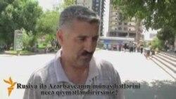 Medvedyevin Bakı səfərinə münasibət