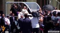 Roma Papası ermənilərlə görüşüb- [video]