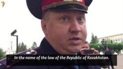 Kazakh Police Detain RFE/RL Reporter In Oral
