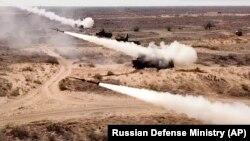 Rusiyanın cənubunda hərbi bazadan raket buraxılır, 22 sentyabr, 2020-ci il